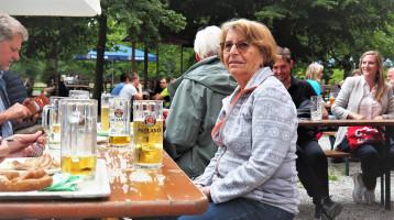Radltour und Biergarten