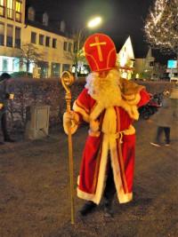 Der Nikolaus am Marktplatz