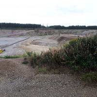 Kiesgrube im Forst Kasten August 2019