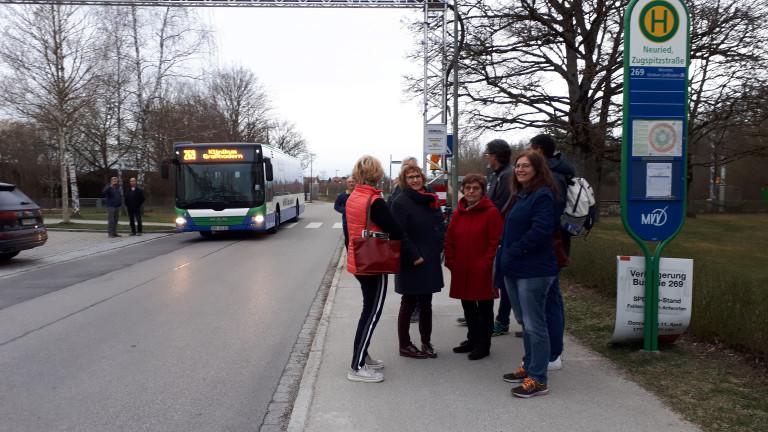 Verlängerung der Buslinie 269