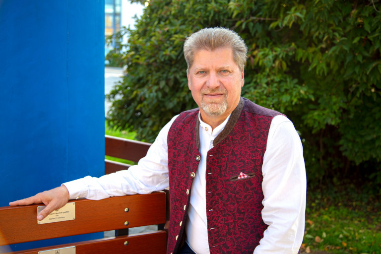 Unser Bürgermeister Harald Zipfel